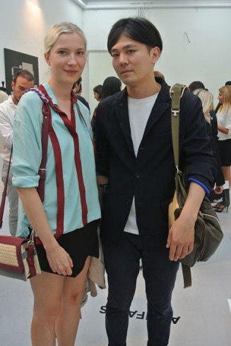 Tanja Bradaric and Taro Ohmae.